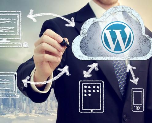Wordpress Homepage mit responsive Design
