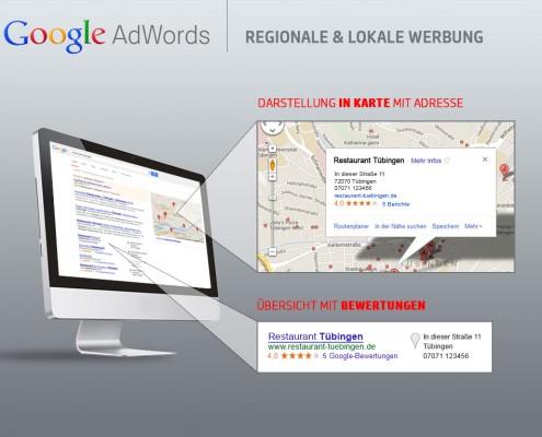 Google Regionalsuche